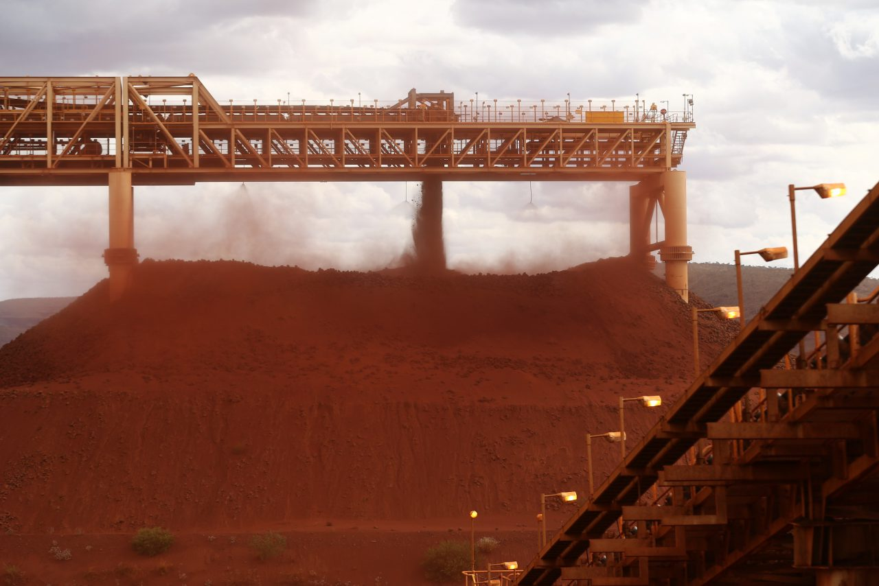 As Oil Crashes, Iron Ore's Still Rocking